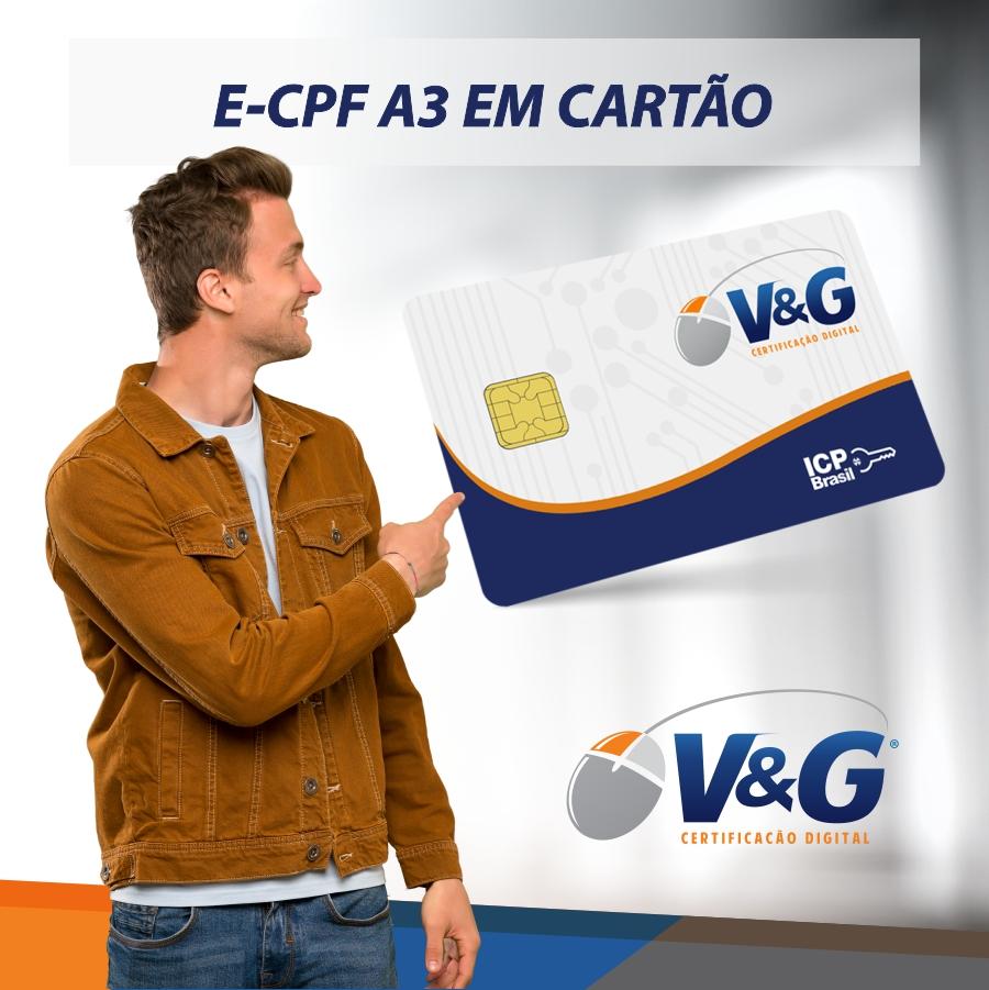 E-CPF A3 EM CARTÃO INTELIGENTE
